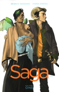 Brian K. Vaughan and Fiona Staples' Saga