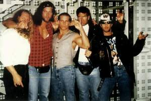 Left to Right: Leveque, Nash, Michaels, Hall, Waltman.
