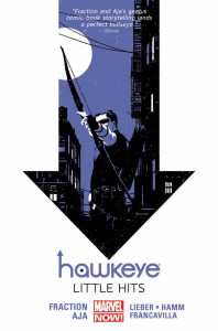 Hawkeye: Little Hits by Matt Fraction
